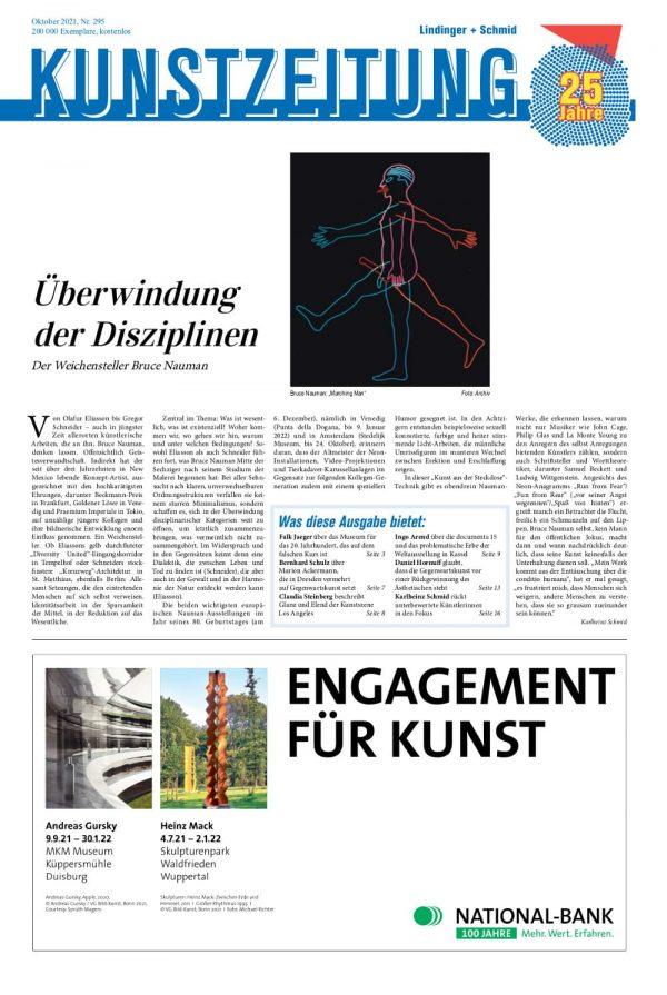 KUNSTZEITUNG-Cover